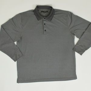 Greg Norman Regular XL Gray   Polo Polyester solid